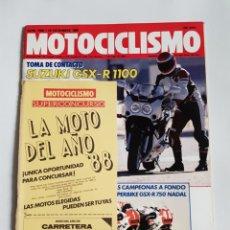 Coches y Motocicletas: REVISTA MOTOCICLISMO NÚMERO 1088. Lote 105916446