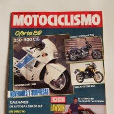 Coches y Motocicletas: REVISTA MOTOCICLISMO NÚMERO 1095. Lote 105918199