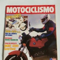 Coches y Motocicletas: REVISTA MOTOCICLISMO NÚMERO 1043. Lote 105918666