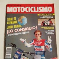 Coches y Motocicletas: REVISTA MOTOCICLISMO NÚMERO 1124. Lote 105919223