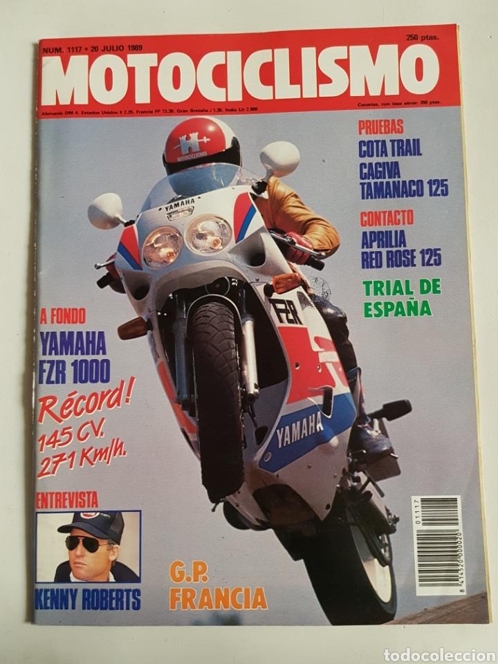 REVISTA MOTOCICLISMO NÚMERO 1117 (Coches y Motocicletas - Revistas de Motos y Motocicletas)