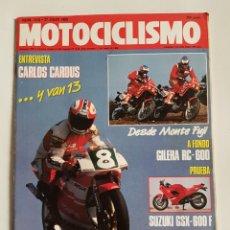 Coches y Motocicletas: REVISTA MOTOCICLISMO NÚMERO 1118. Lote 105963348