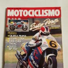 Coches y Motocicletas: REVISTA MOTOCICLISMO NÚMERO 1166. Lote 105963864