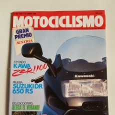 Coches y Motocicletas: REVISTA MOTOCICLISMO NÚMERO 1164. Lote 105963966
