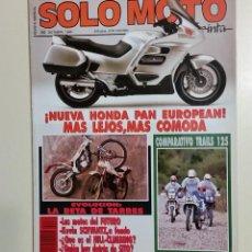 Coches y Motocicletas: REVISTA SOLO MOTO TREINTA. Nº 80. OCTUBRE 1989. CCAVENDE. Lote 106026847