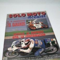 Coches y Motocicletas: SOLO MOTO ACTUAL 675 ABRIL 1989. SITO Y CRIVILLE. Lote 106601607