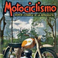 Carros e motociclos: REVISTA MOTOCICLISMO Nº 113 JULIO AGOSTO 1958 24 HORAS DE MONTJUICH / RALLYE EURO VESPA . Lote 106764239