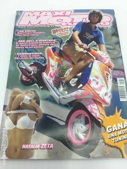 REVISTA MAXI MOTO TUNNIG Nº 57 (Coches y Motocicletas - Revistas de Motos y Motocicletas)