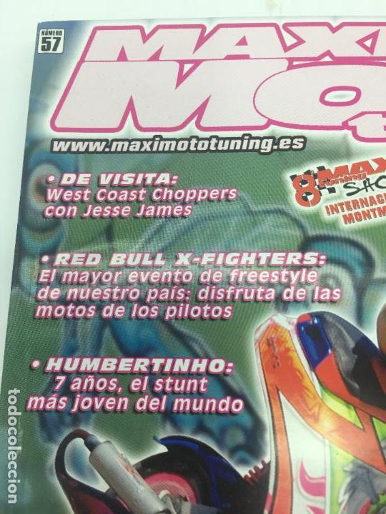 Coches y Motocicletas: REVISTA MAXI MOTO TUNNIG Nº 57 - Foto 2 - 106985511