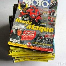 Coches y Motocicletas: LA MOTO LOTE DE 46 REVISTAS DE 2000 A 2015. EXCELENTE ESTADO.VER FOTOGRAFÍAS . Lote 107503739