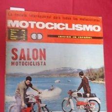 Coches y Motocicletas: REVISTA MOTOCICLISMO. Nº 5. MAYO 1968. PRUEBADE LA PEUGEOT CON LANZADOR. Lote 107695231