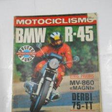 Coches y Motocicletas: REVISTA MOTOCICLISMO Nº 583. NOVIEMBRE 1978. EXTRA MENSUAL. BMW R-45. TDKR51. Lote 107717635