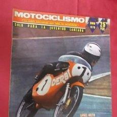 Coches y Motocicletas: REVISTA MOTOCICLISMO. JUNIO 1970. ANGEL NIETO HACIA LA CONQUISTA DE OTORO CAMPIONATO MUNDIAL. Lote 107733475