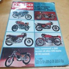 Coches y Motocicletas: MOTO CATÁLOGO 1974'75 LA PIÚ COMPLETA RASSEGNA DELLA PRODUZIONE ATTUALE. Lote 107907163