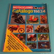Coches y Motocicletas: REVISTA MOTOCICLISMO Nº 4. CATÁLOGO 1983 / 4. Lote 108067107