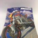 Coches y Motocicletas: POSTER MAXI MOTO TUNING - PROLOG KAWASAKI ZX-6R - REVERSO CHICA CON MOTO - 56 X 38,50 CM.. Lote 108386355