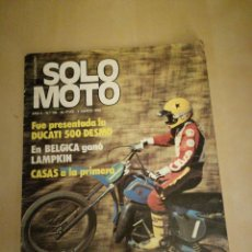 Coches y Motocicletas: SOLO MOTO N° 130. Lote 108591575