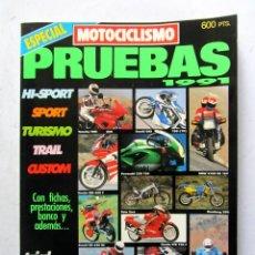 Coches y Motocicletas: MOTOCICLISMO ESPECIAL PRUEBAS 1991 - HONDA YAMAHA SUZUKI HARLEY BMW DUCATI VESPA KAWASAKI APRILIA. Lote 108721551