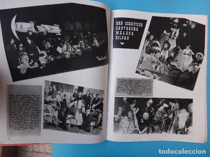 Coches y Motocicletas: CATALOGO REVISTA MOTO VESPA , Nº 55 , ENERO FEBRERO 1960 , ORIGINAL - Foto 2 - 108892447
