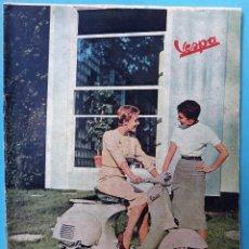 Coches y Motocicletas: CATALOGO REVISTA MOTO VESPA , Nº 46 , JULIO AGOSTO 1958 , ORIGINAL. Lote 108892599