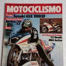 Coches y Motocicletas: REVISTA MOTOCICLISMO Nº 840. AÑO 1984. 18 DE FEBRERO. CCAVENDE.. Lote 102978075