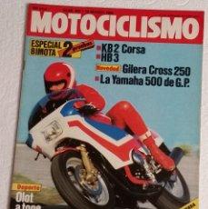 Coches y Motocicletas: REVISTA MOTOCICLISMO Nº 843. AÑO 1984. 10 DE MARZO. CCAVENDE.. Lote 102978267