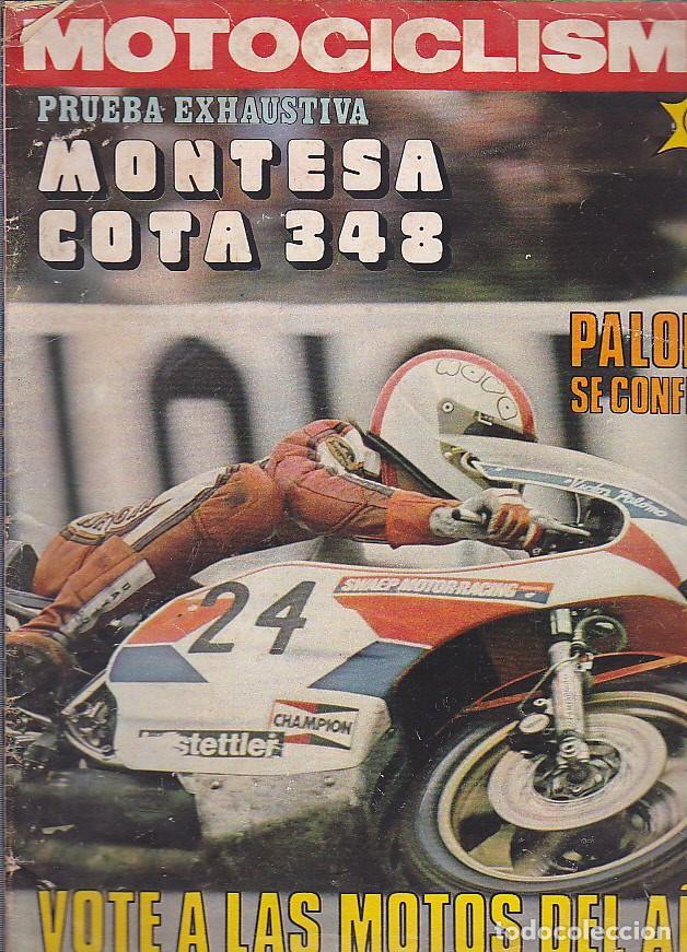 REVISTA MOTOCICLISMO Nº 488 PRUEBA MONTESA COTA 348 (Coches y Motocicletas - Revistas de Motos y Motocicletas)