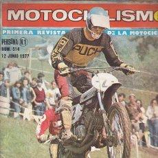 Coches y Motocicletas: REVISTA MOTOCICLISMO Nº 514 PRUEBA DERBI VARIANT . Lote 109268211