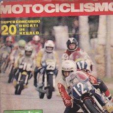 Coches y Motocicletas: REVISTA MOTOCICLISMO Nº 472 PRUEBA GUZZI 400 GTS. Lote 109268291