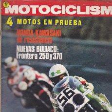 Coches y Motocicletas: REVISTA MOTOCICLISMO Nº 482 PRUEBA BULTACO FRONTERA 250 Y 370 . Lote 109268423