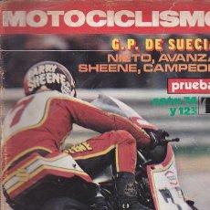 Coches y Motocicletas: REVISTA MOTOCICLISMO Nº 470 PRUEBA MONTESA COTA 74 Y 123 . Lote 109268463