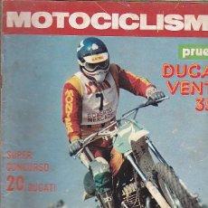 Coches y Motocicletas: REVISTA MOTOCICLISMO Nº 469 PRUEBA DUCATI VENTO 350. Lote 109268507