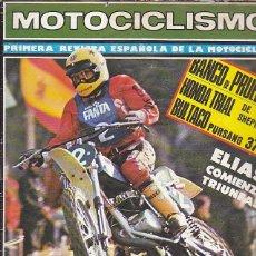 Coches y Motocicletas: REVISTA MOTOCICLISMO Nº 502 PRUEBA BULTACO PURSANG 370. Lote 109268535