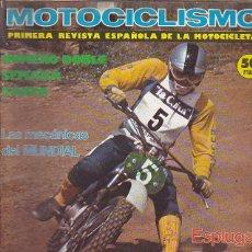 Coches y Motocicletas: REVISTA MOTOCICLISMO Nº 504-505 PRUEBA MORINI 125. Lote 109268647