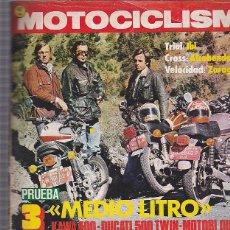 Coches y Motocicletas: REVISTA MOTOCICLISMO Nº 481 COMPARATIVA KAWA 400 DUCATI 500 TWIN MOTOBI QUATTRO. Lote 109268731