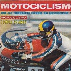 Coches y Motocicletas: REVISTA MOTOCICLISMO Nº 465 PRUEBA KAWA 750 KZ. Lote 109268783
