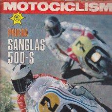 Coches y Motocicletas: REVISTA MOTOCICLISMO Nº 485 PRUEBA SANGLAS 500-S. Lote 109268827