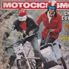 Coches y Motocicletas: REVISTA MOTOCICLISMO Nº 495 PRUEBA TORROT GRAN CROSS 4VL. Lote 109268907