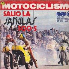 Coches y Motocicletas: REVISTA MOTOCICLISMO Nº 483 SANGLAS 500-S. Lote 109269023