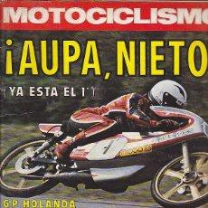 Coches y Motocicletas: REVISTA MOTOCICLISMO Nº 466 PRUEBA GUZZI 250 TS. Lote 109269075
