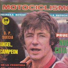 Coches y Motocicletas: REVISTA MOTOCICLISMO Nº 521 PRUEBA MONTESA COTA 74. Lote 109269107