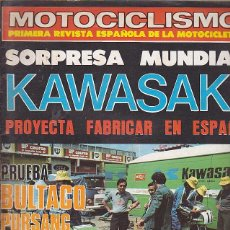 Coches y Motocicletas: REVISTA MOTOCICLISMO Nº 534 PRUEBA BULTACO PURSANG MK 11. Lote 109269147
