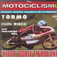 Coches y Motocicletas: REVISTA MOTOCICLISMO Nº 517 PRUEBA BULTACO FRONTERA GOLD MEDAL . Lote 109269247