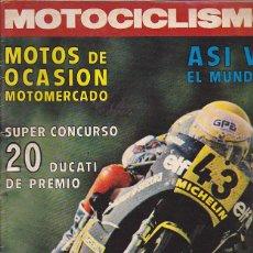 Coches y Motocicletas: REVISTA MOTOCICLISMO Nº 468 PRUEBA ITAL-JET 350 . Lote 109269483