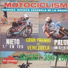 Coches y Motocicletas: REVISTA MOTOCICLISMO Nº 503 PRUEBA DUCATI 350 FORZA. Lote 109269511