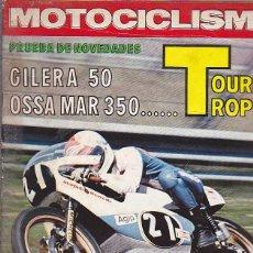 Coches y Motocicletas: REVISTA MOTOCICLISMO Nº 464 PRUEBA GILERA 50 Y OSSA MAR 350. Lote 109269563