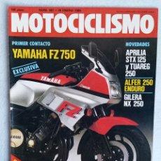 Coches y Motocicletas: REVISTA MOTOCICLISMO Nº 887. AÑO 1985. 26 DE ENERO. CCAVENDE.. Lote 102754591