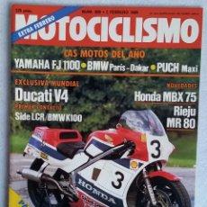 Coches y Motocicletas: REVISTA MOTOCICLISMO Nº 888. AÑO 1985. 2 DE FEBRERO. EXTRA FEBRERO. CCAVENDE.. Lote 102754659