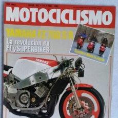 Coches y Motocicletas: REVISTA MOTOCICLISMO Nº 897. AÑO 1985. 13 DE ABRIL. CCAVENDE.. Lote 102755943