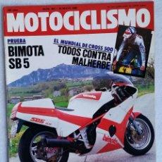 Coches y Motocicletas: REVISTA MOTOCICLISMO Nº 903. AÑO 1985. 25 DE MAYO. CCAVENDE.. Lote 102756567